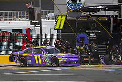 May 26, 2018 - Concord, North Carolina, United States of America - Ryan Truex (11) brings his car down pit road for service during the Alsco 300 at Charlotte Motor Speedway in Concord, North Carolina. (Credit Image: © Chris Owens Asp Inc/ASP via ZUMA Wire)