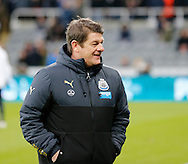 Newcastle United caretaker-manager John Carver prior to the Barclays Premier League match at St. James's Park, Newcastle<br /> Picture by Simon Moore/Focus Images Ltd 07807 671782<br /> 01/01/2015