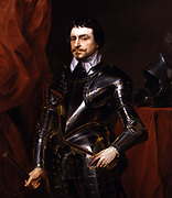 Thomas Wentworth, 1st Earl of Strafford (1593-1641) English statesman, a major figure in the events leading up to the English Civil War  Portrait by Sir Anthony Van Dyck (1599-1641) Flemish artist, English court painter.