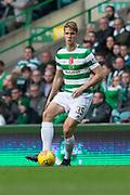 14th October 2017, Celtic Park, Glasgow, Scotland; Scottish Premiership football, Celtic versus Dundee; Celtic's Kristoffer Ajer