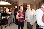 KATHY LETTE; TERRY RONALD, Terry Ronald - book launch party for his book ' Becoming Nancy' . The Westbury Hotel, Pine Room, Bond Street, London, W1S 2YF<br /> -DO NOT ARCHIVE-© Copyright Photograph by Dafydd Jones. 248 Clapham Rd. London SW9 0PZ. Tel 0207 820 0771. www.dafjones.com.
