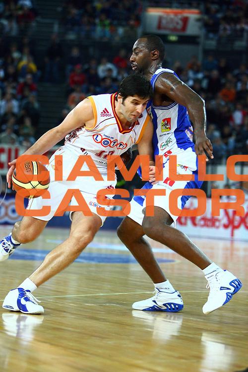 DESCRIZIONE : Roma Lega A1 2006-07 Lottomatica Virtus Roma Upea Capo d'Orlando<br /> GIOCATORE : Bodiroga<br /> SQUADRA : Lottomatica Virtus Roma<br /> EVENTO : Campionato Lega A1 2006-2007 <br /> GARA : Lottomatica Virtus Roma Upea Capo d'Orlando<br /> DATA : 19/11/2006 <br /> CATEGORIA : Penetrazione Palleggio<br /> SPORT : Pallacanestro <br /> AUTORE : Agenzia Ciamillo-Castoria/E.Castoria