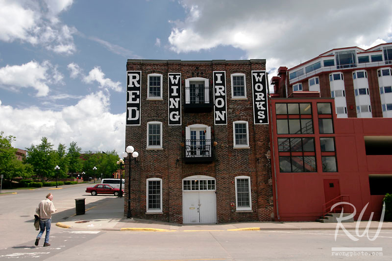 Red Wing Iron Works Building - The Oldest Building in Town, Red Wing, Minnesota