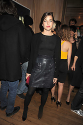 CHARLOTTE CASIRAGHI at a party to celebrate the launch of Hollywood Domino - a brand new board game, held at Mosimann's 11b West Halkin Street, London on 7th November 2008.  The evening was in aid of Charlize Theron's Africa Outreach Project.