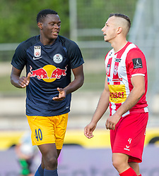 21.07.2017, Franz Fekete Stadion, Kapfenberg, AUT, 2. FBL, KSV 1919 vs FC Liefering , 1. Runde, im Bild Patson Daka (FC Liefering), Mladen Jutric (KSV 1919) // during the Austrian Erste Liga Match, 1th Round, between KSV 1919 and FC Liefering at the Franz Fekete Stadium, Kapfenberg, Austria on 2017/07/21, EXPA Pictures © 2017, PhotoCredit: EXPA/ Dominik Angerer