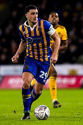 Oliver Norburn of Shrewsbury Town - Mandatory by-line: Robbie Stephenson/JMP - 05/02/2019 - FOOTBALL - Molineux - Wolverhampton, England - Wolverhampton Wanderers v Shrewsbury Town - Emirates FA Cup fourth round replay