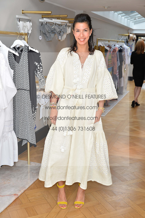 STEPHANIE ALAMEIDA at the launch of the new Salt store at 91 Walton Street, London on 7th July 2016.