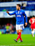 Portsmouth's Marc McNulty during the The FA Cup match between Portsmouth and Accrington Stanley at Fratton Park, Portsmouth, England on 5 December 2015. Photo by Graham Hunt.