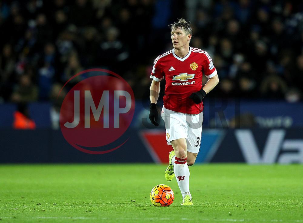 Bastian Schweinsteiger of Manchester United - Mandatory byline: Robbie Stephenson/JMP - 28/11/2015 - Football - King Power Stadium - Leicester, England - Leicester City v Manchester United - Barclays Premier League