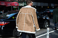 Shearling Jacket, NYFWM Day 1