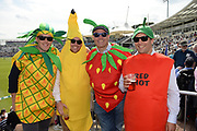 Fancy dress spectators enjoying the test match during the first day of the 4th SpecSavers International Test Match 2018 match between England and India at the Ageas Bowl, Southampton, United Kingdom on 30 August 2018.