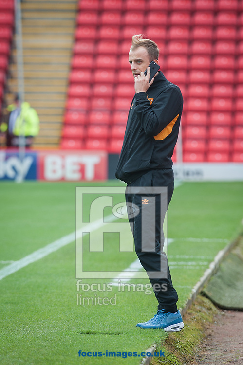 Kamil Grosicki of Hull City prior to the Sky Bet Championship match at Oakwell, Barnsley<br /> Picture by Matt Wilkinson/Focus Images Ltd 07814 960751<br /> 21/10/2017