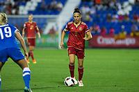 Spain's Veronica Boquete during the match of  European Women's Championship 2017 at Leganes, between Spain and Finland. September 20, 2016. (ALTERPHOTOS/Rodrigo Jimenez)