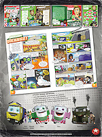 Steady Eddie Kids Club – EDDIE STOBART.<br /> <br /> Fanzine.<br /> Join Steady Eddie and his top transport crew for the best travel fun on the planet!<br /> There are quizzes, challenges and games galore – enough to help any journey whizz by.<br /> On the way you can help Tina Towers, Timo and Tess battle road bashing baddies<br /> like Belcher and his boss Tycoon Terry!<br /> <br /> http://steadyeddieworld.com/