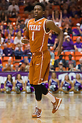 FORT WORTH, TX - JANUARY 19: Isaiah Taylor #1 of the Texas Longhorns looks on against the TCU Horned Frogs on January 19, 2015 at Wilkerson-Greines AC in Fort Worth, Texas.  (Photo by Cooper Neill/Getty Images) *** Local Caption *** Isaiah Taylor