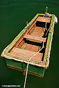 A Jon Boat for hunting & fishing - seen in Marsaxlokk Harbour, Malta