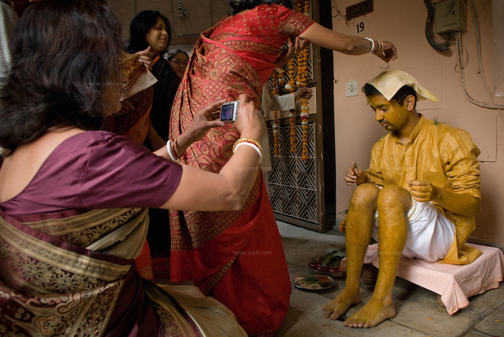 A Bengali wedding in India