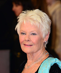 Dame Judi Dench arrives for the EE BRITISH ACADEMY FILM AWARDS 2014 (BAFTA) at the The Royal Opera House in Covent Garden, London, United Kingdom. Sunday, 16th February 2014. Picture by Nils Jorgensen / i-Images