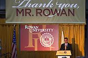Henry Rowan Statue Unvailing at Rowan University in Glassboro, NJ on Thursday December 13, 2012. (photo / Mat Boyle)