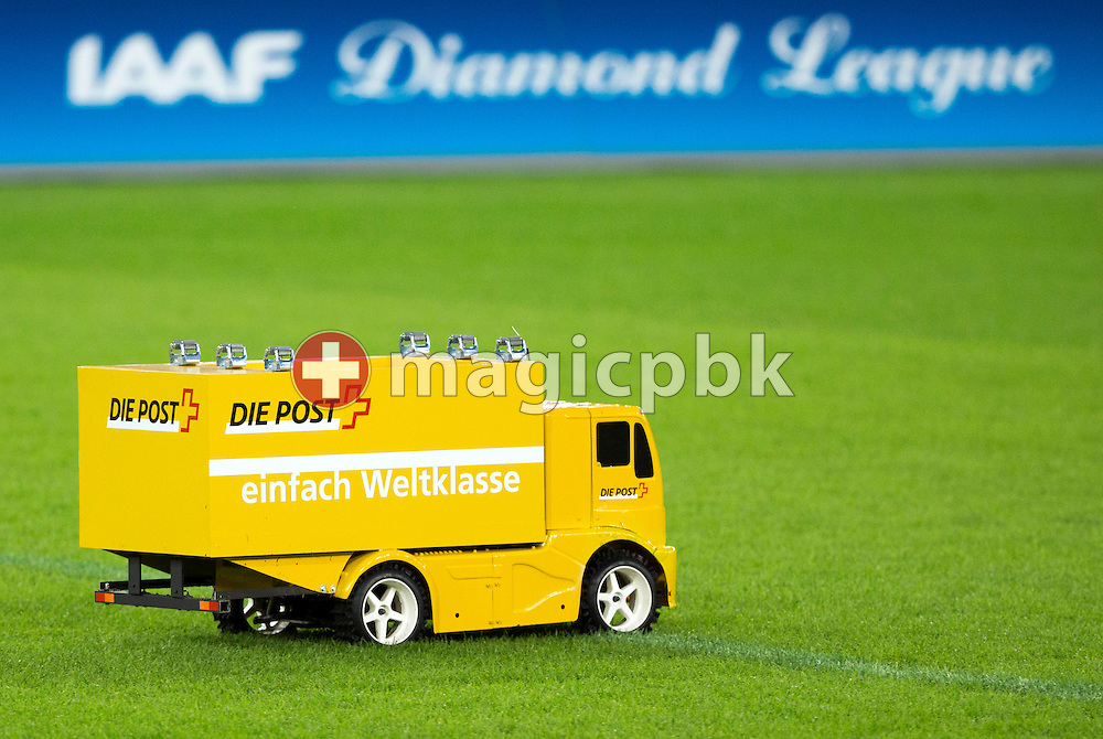 Action during the Iaaf Diamond League meeting at the Letzigrund Stadium in Zurich, Switzerland, Thursday, Aug. 29, 2013. (Photo by Patrick B. Kraemer / MAGICPBK)