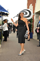CAROL VORDERMAN at the 3rd day of Royal Ascot 2009 on 18th June 2009.