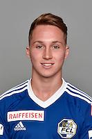 15.07.2016; Luzern; Fussball - FC Luzern;<br />Nicolas Haas (Luzern)<br />(Martin Meienberger/freshfocus)