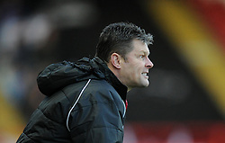 Bristol City manager, Steve Cotterill on the touch-line at Ashton Gate for FA Cup second round tie against AFC Telford - Photo mandatory by-line: Paul Knight/JMP - Mobile: 07966 386802 - 07/12/2014 - SPORT - Football - Bristol - Ashton Gate - Bristol City v AFC Telford - FA Cup Second Round