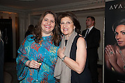 CAROLINE DIDIZIAN; TALINE AVAKIAN; , The Foreign Sisters lunch sponsored by Avakian in aid of Cancer Research UK. The Dorchester. 15 May 2012