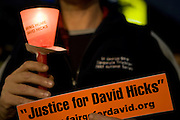 David Hicks protest in Adelaide, Australia, 23 August 2006