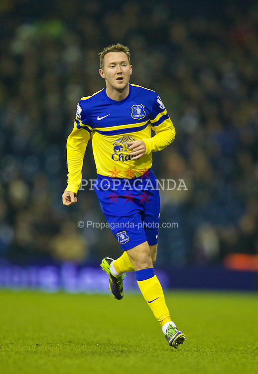 WEST BROMWICH, ENGLAND - Monday, January 20, 2014: Everton's Aiden McGeady in action against West Bromwich Albion during the Premiership match at the Hawthorns. (Pic by David Rawcliffe/Propaganda)