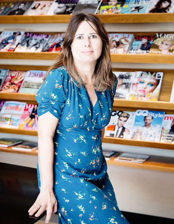 Editor of British Vogue Alexandra Shulman portrait at Vogue House on Weds 3rd May 2016.<br /> <br /> Ki Price