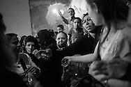 Egypt, Cairo: Father Samaan Ibrahim performs the ritual of exorcism in Deyr el Qiddis Samaan (Monastery of St.Simon) in Manshyet Naser el Moqattam. ph.Christian Minelli..