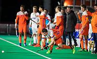 ROTTERDAM - Arjen Lodewijks (NED)   during  the Pro League hockeymatch men, Netherlands- Germany (0-1). )  WSP COPYRIGHT  KOEN SUYK