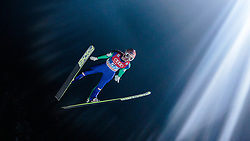 05.01.2016, Paul Ausserleitner Schanze, Bischofshofen, AUT, FIS Weltcup Ski Sprung, Vierschanzentournee, Qualifikation, im Bild Stefan Kraft (AUT) // Stefan Kraft of Austria during his Qualification Jump for the Four Hills Tournament of FIS Ski Jumping World Cup at the Paul Ausserleitner Schanze, Bischofshofen, Austria on 2016/01/05. EXPA Pictures © 2016, PhotoCredit: EXPA/ JFK