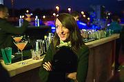 BECKY POOSTCHI, Absolut Art Bureau Dinner at Base 13. Documenta ( 13 ), Kassel, Germany. 14 September 2012.