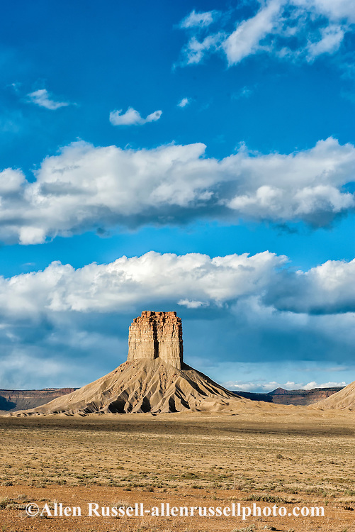 Colorado, Ute Mountain Indian Reservation; Chimney Rock