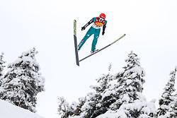 16.12.2017, Nordische Arena, Ramsau, AUT, FIS Weltcup Nordische Kombination, Skisprung, im Bild Manuel Faisst (GER) // Manuel Faisst of Germany during Skijumping Competition of FIS Nordic Combined World Cup, at the Nordic Arena in Ramsau, Austria on 2017/12/16. EXPA Pictures © 2017, PhotoCredit: EXPA/ Martin Huber