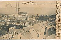 Zagreb : Croatie. <br /> <br /> ImpresumZagreb : Naklada A. Brusina, [1905].<br /> Materijalni opis1 razglednica : tisak ; 8,7 x 13,9 cm.<br /> SuradnikMosinger, Rudolf(1865.–1918.)<br /> NakladnikTiskara A. Brusina<br /> Mjesto izdavanjaZagreb<br /> Vrstavizualna građa • razglednice<br /> ZbirkaZbirka razglednica • Grafička zbirka NSK<br /> Formatimage/jpeg<br /> SignaturaRZG-PAN-13<br /> Obuhvat(vremenski)20. stoljeće<br /> NapomenaRazglednica je putovala 1905. • Razglednica je tiskana po fotografiji Rudolfa Mosingera.<br /> PravaJavno dobro<br /> Identifikatori000925467<br /> NBN.HRNBN: urn:nbn:hr:238:032581 <br /> <br /> Izvor: Digitalne zbirke Nacionalne i sveučilišne knjižnice u Zagrebu