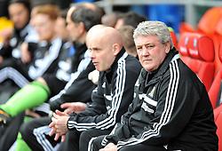 Hull City Manager,Steve Bruce - Photo mandatory by-line: Alex James/JMP - Tel: Mobile: 07966 386802 22/02/2014 - SPORT - FOOTBALL - Cardiff - Cardiff City Stadium - Cardiff City v Hull City - Barclays Premier League