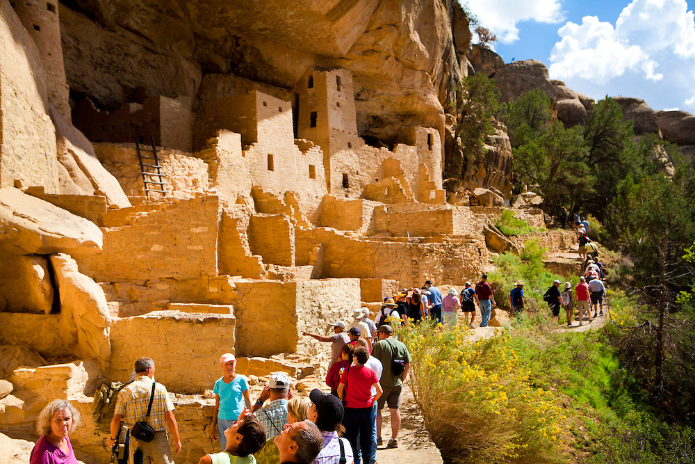 Cliff Palace is one of the most popular cliff dwelling sites in Mesa Verde, but it's popularity has raised concerns for it's preservation. The Southern part of the structure is showing signs of slipping and has caused some areas to be closed to the public.