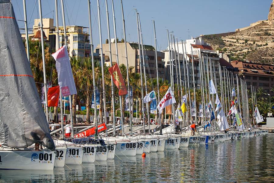Platu 25 world championship in Alicante,Spain,July 2010