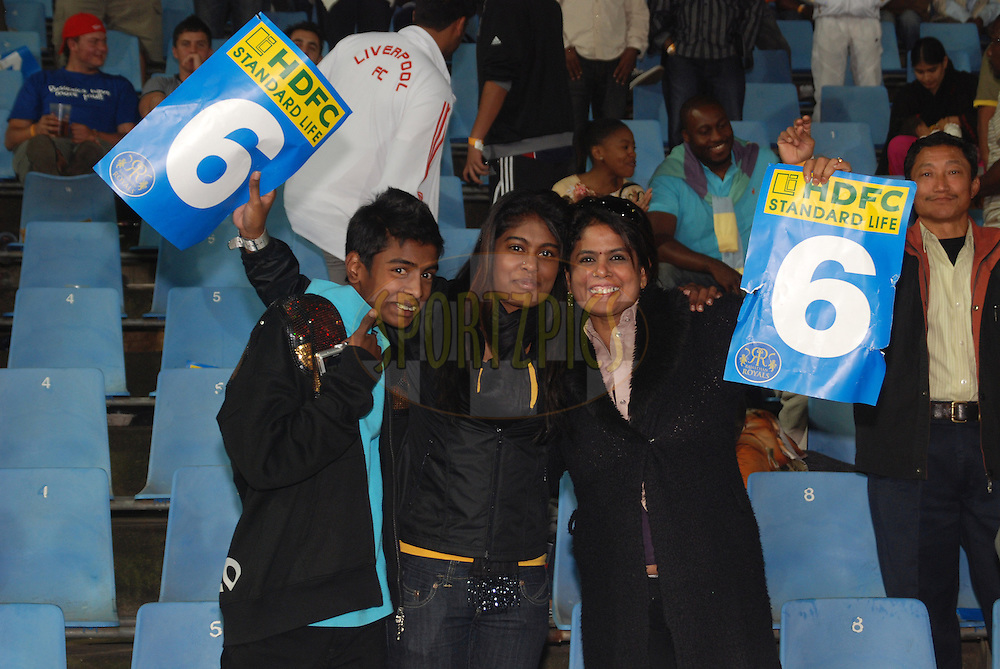 CENTURION, SOUTH AFRICA - 30 April 2009.  A trio who know their boundaries seen during the IPL Season 2 match between the Rajasthan Royals and the Chennai Superkings held at Centurion, South Africa.