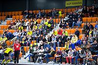 ROTTERDAM - supporters Terriers. NK Zaalhockey hoofdklasse. FOTO KOEN SUYK