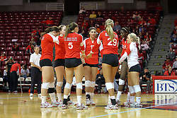 21 November 2009: Illinois State Redbird Volleyball.The Missouri State Lady Bears take on the Illinois State Lady Redbirds at Redbird Arena on the campus of Illinois State University in Normal Illinois.