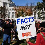 Signs about Fox News