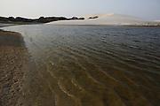 Barreirinhas_MA, Brasil.<br /> <br /> Parque Nacional dos Lencois Maranhenses em Barreirinhas, Maranhao. Na foto Lagoa do Peixe.<br /> <br /> Lencois Maranhenses National Park in Barreirinhas, Maranhao. In this photo Lagoa do Peixe.<br /> <br /> Foto: LEO DRUMOND / NITRO