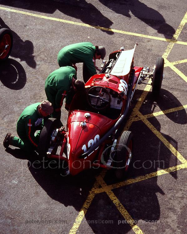 1934 Alfa Romeo 2.9 at 1994 vintage event, Silverstone, England