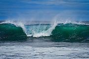 Bølgebrytning   Wave refraction