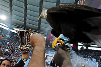 L'aquila Olimpia .Lazio vince la Coppa.Celebration .Roma 26/05/2013 Stadio Olimpico.Football Calcio 2012/2013 .Calcio Finale Coppa Italia / Italy Cup Final.Roma Vs Lazio.Foto Andrea Staccioli Insidefoto