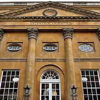 Grand Pump Room in Bath, England<br />
